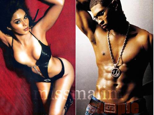 Mallika and Usher
