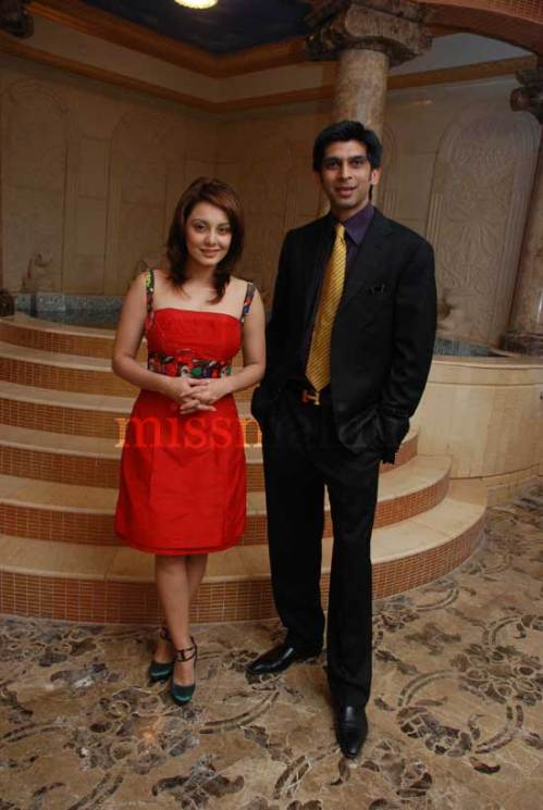 Minisha Lamba and Mr. Dilawar Nensey
