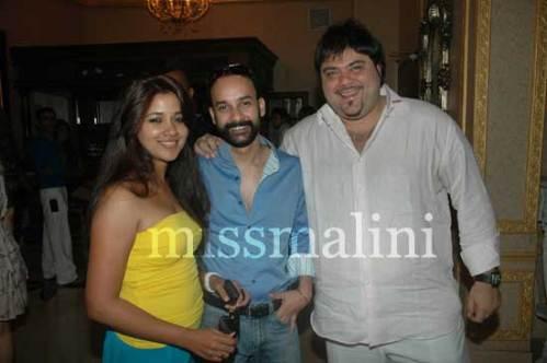 Narayani Shastri, Rahul Aggarwal and Riyaaz Amlani