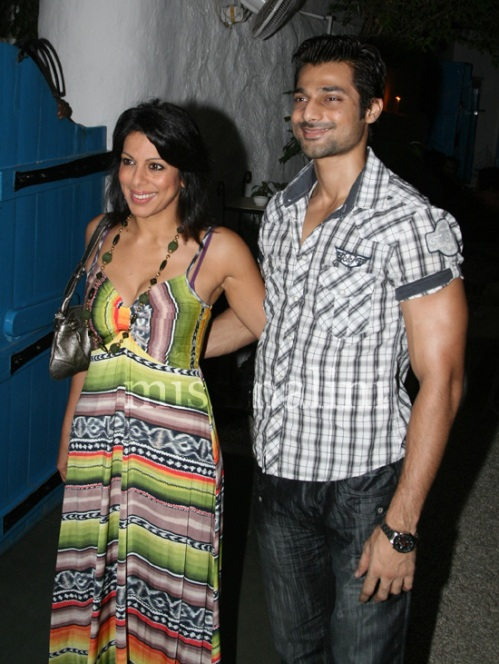 Pooja Bedi and Hanif Halal