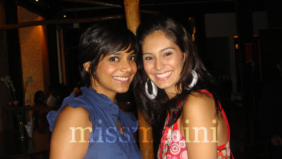 Juhi Pande and Bruna