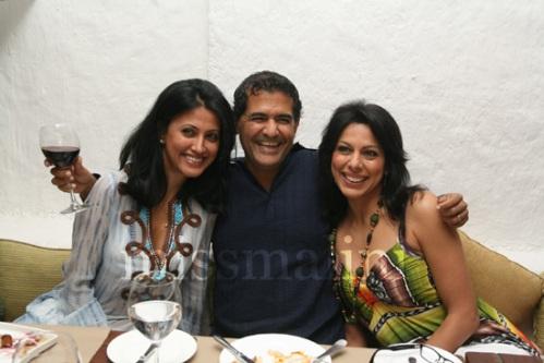 Reshma Bombaywala, A.D. Singh and Pooja Bedi