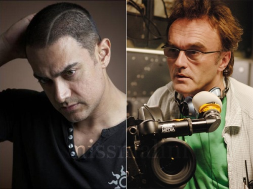 Aamir Khan and Danny Boyle