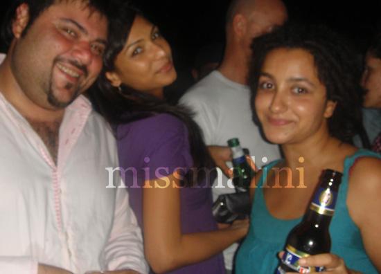 Riyaaz Amlani, Shamita Singha and Swaati Langeh