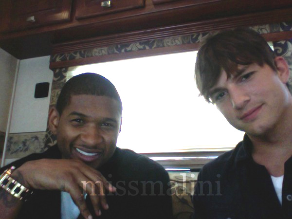 Usher and Ashton