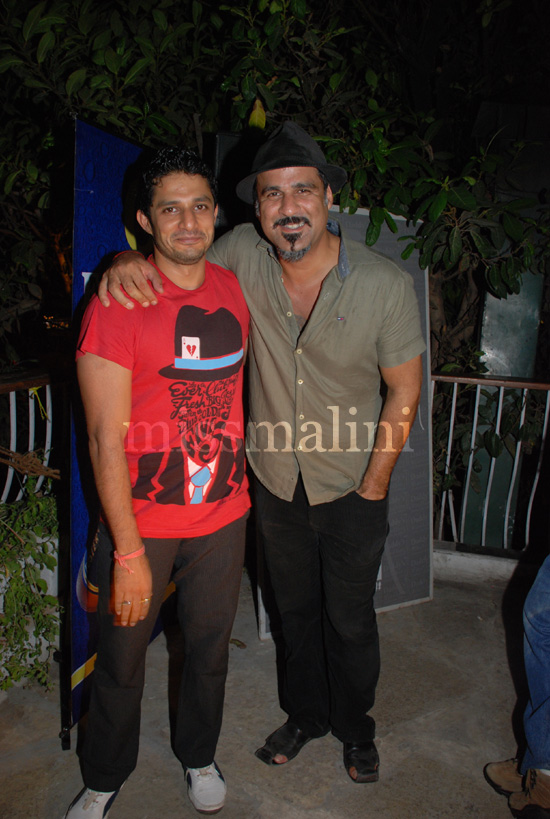 Yudi with Sameer Malhotra