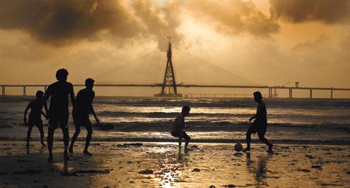 BANDRA-WORLI-SEA
